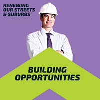 Renewing Our Streets and Suburbs   Building Opportunities