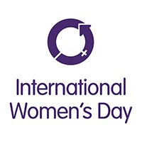 International Women's Day and logo